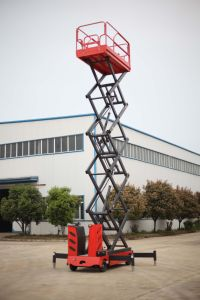 New 6-11m Electric Scissor Lift with CE Certificate pictures & photos