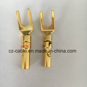 Y Type Bindingpost Plug, Electrical Instrument Plug pictures & photos