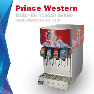 Good Quality Commercial Facotry Direct Sale 4 Flavors Soda Cola Drink Dispenser pictures & photos