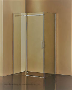 Hr-04-K Stainless Steel Double Wheels Sliding Shower Enclosure pictures & photos