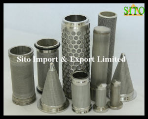 Stainless Steel Sintered Wire Mesh Filter Elements pictures & photos