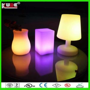 Battery Power LED Table Lamp Square Dinner Lamp pictures & photos