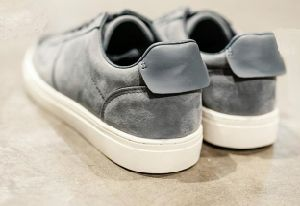 Gray Low Top Suede Leather Casual Shoes (CAS-059) pictures & photos