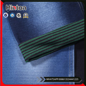 Dark Blue Knitted Denim Fabric Super Soft pictures & photos