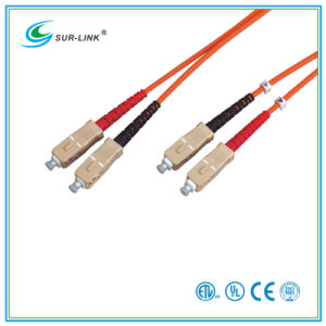 SC/PC-SC/PC 50/125 Duplex 2m Fo Patch Cord pictures & photos