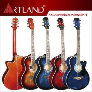 Linder Top Back&Side Acoustic Guitar (AG4011C) pictures & photos