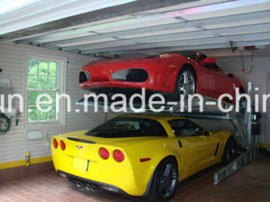 Simple Hoisting Tilting Type Car Parking Lift pictures & photos
