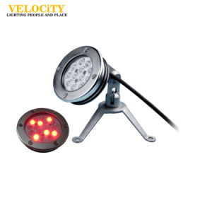 Factory High Quality IP68 RGB SUS316 LED Swimming Pool Light with Mounting Sleeve pictures & photos