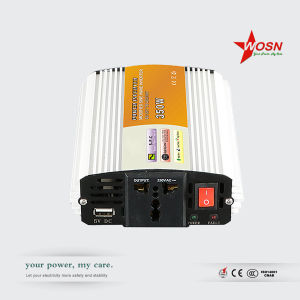 Wosn Dm-350W 120V/230VAC off Grid DC to AC Modified Sine Wave Power Inverter with USB 5V pictures & photos
