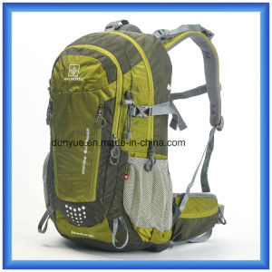 Customized Waterproof Hiking Backpack Bag, Polyester Nylon Climbing Backpack, Camping Outdoor Sports Travel Backpack pictures & photos