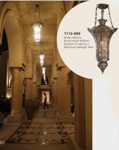 Classcial Brass Hotel Pendant Lamp (KA1113-600) pictures & photos