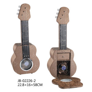 Guitar Shape Single Wooden Packaging Box Watch Rotator Watch Winder pictures & photos