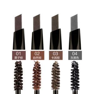 Srn 2 In1 Brown Colors Women Eyebrow Makeup Waterproof Pencil Cosmetics pictures & photos