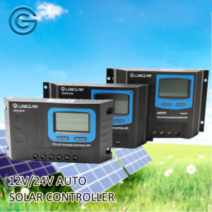 12V 24V Auto 20A Solar Charge Controller with USB pictures & photos