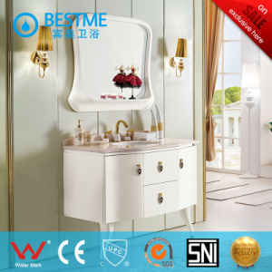 Popular Bathroom Wooden Cabinet From China (BF-8069) pictures & photos