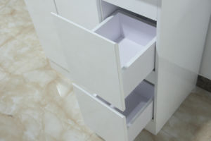High White Gloss MDF Bathroom Vanity pictures & photos