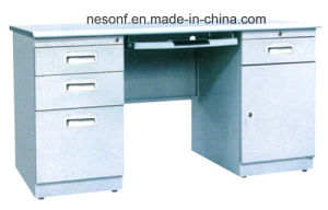 Good Quality Steel Metal Office Computer Desk (NS-ST130) pictures & photos