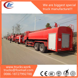 6X4 Dongfeng Water Foam Fire Fighting Truck pictures & photos