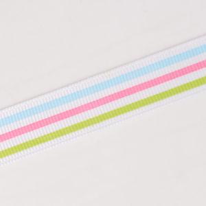 """7/8"""" Pastel Stripe Grosgrain Ribbon pictures & photos"""