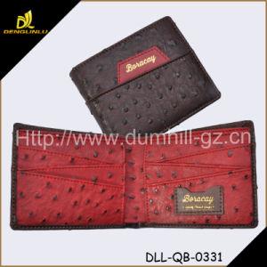 New Bifold Custom PU Ostrich Wallet for Men