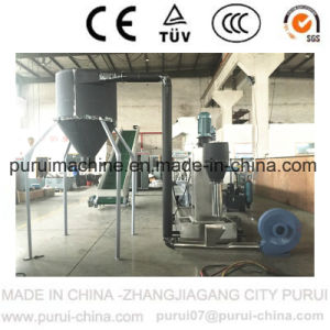 Plastic Recycling System for Post Consumer Waste Pelletizing with Double Disc Technology pictures & photos