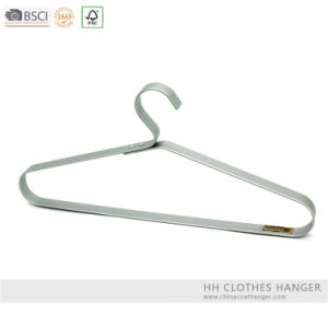 Fashion Design Rose Gold Brass Aluminium Top Clothes Hangers for Jeans pictures & photos
