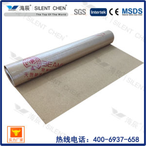 Top Quality Waterproof Cork Underlayment with PE Film pictures & photos