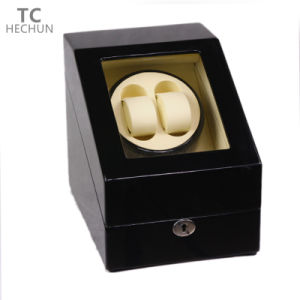 2+3 Wooden Motors Rotate Automatic Mechanical Watch Winder pictures & photos