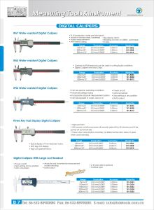 High Quantity Metric/Inch IP67 Water-Resistant Digital Calipers 150/200/300mm pictures & photos