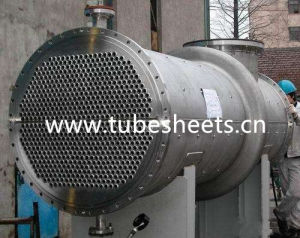 Drilled Tubesheet for Pressure Vessels Design pictures & photos