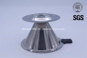 Stainless Steel Perforated Mesh Coffee Dripper pictures & photos
