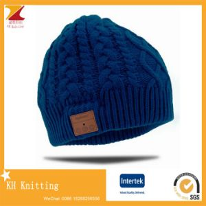 Bluetooth Beanie Acrylic Knitting Winter Hats