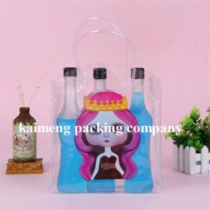 Fancy Design Plastic Promotional Fashion Bags for Liquor Bottle Package (fashion bags) pictures & photos