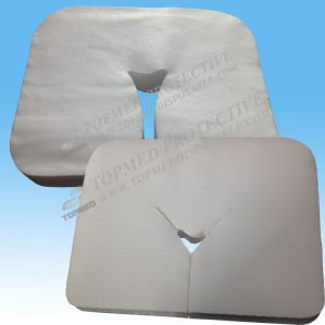 Beauty Salon Table Spunlace Nonwoven Disposable Face Rest Cover, Soft Face Cover pictures & photos