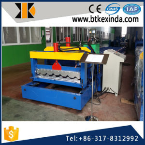 1000 Glazed Tile Roof Panel Roll Forming Machine pictures & photos