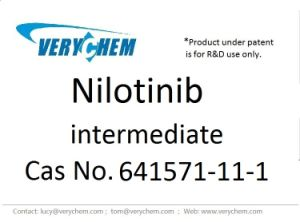 Pharmaceutical Intermediate Nilotinib CAS 641571-11-1 pictures & photos