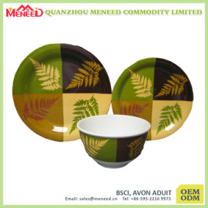 4PCS USA Market Hot Sell Melamine Dinnerware pictures & photos