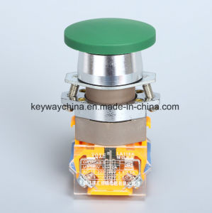 Mushroom Keyway Push Button Switch La118A Series pictures & photos