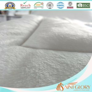 Pillowtop Velvet Microplush Quilted Mattress Protector pictures & photos