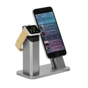 Mutli-Functions Aluminum Charging Dock Charger for Iwatch iPhone Se 7 7s 6 6s Plus pictures & photos
