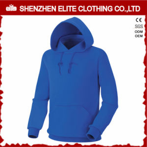 Top Selling High Quality Custom Made Blue Pullover Hoodies (ELTHI-21) pictures & photos