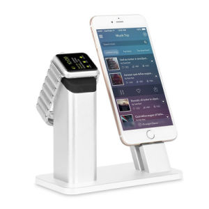 2 in 1 Charger Charging Dock for Apple Iwatch for iPhone Se 7 7s 6 6s Plus pictures & photos