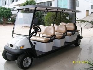 8 Seater Small Electric Golf Car pictures & photos
