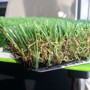 4 Colours Natural Looking up-Right Landscaping Artificial Grass pictures & photos