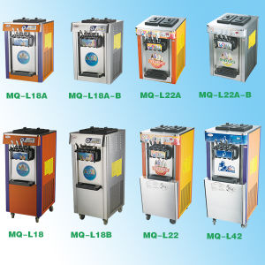 Factory Commercial Hot Sale Stainless Steel Floorstand 22L Soft Frozen Yogurt Machine with Good Price pictures & photos