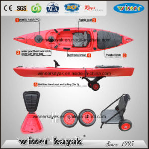 New Design with Rear Storage Cover Kayak for Sale pictures & photos