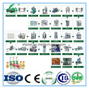 Hot Sale High Quality Complete Automatic Aseptic Milk Powder Production Processing Line Equipments Turnkey Project Price pictures & photos