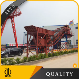 Yhzs50 China High Effiency Mobile Concrete Batching Plant Price in Stock pictures & photos
