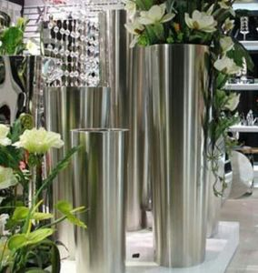Stainless Steel Casting for Floor Flower Pots in Hotel, House and Apartment pictures & photos