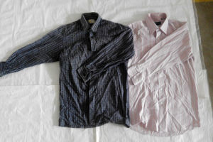 Secondhand Clothesmen Shirt with The Best Quality From China Shanghai pictures & photos